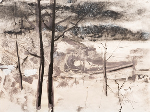 William Thon (1906-2000): Early March; and Untitled