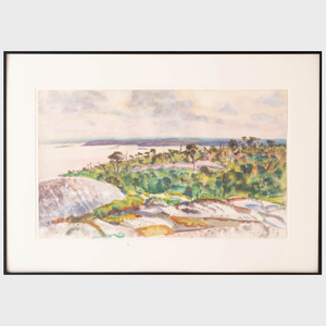 Carl Gordon Cutler (1873-1945): Toward Deer Isle
