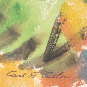 Carl Gordon Cutler (1873-1945): Gathering Clouds