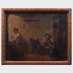 Dutch School: Tavern Scene