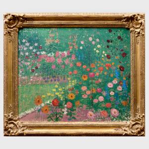 Emma Macrae (1887-1974): Gloucester Garden