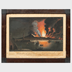 German School: Vesuv; and Der Feuerfall