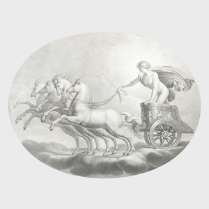 After Rafaele Sazio d'Urbino: Dianna; and Apollo