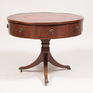 George III Mahogany Rent Table