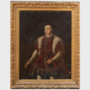English School: Portrait of Edward VI