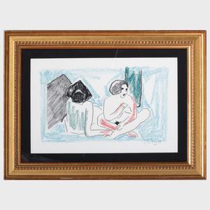 After Karl Schmidt-Ruttluff (1884-1976): Untitled