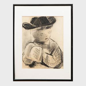 Raymond Kanelba (1897-1960): Portrait of a Boy