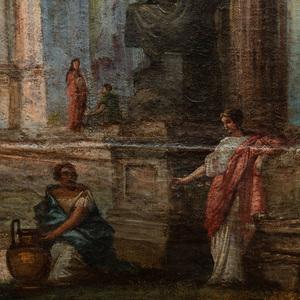 Italian School: Capriccio Scene