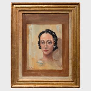 Robert Lutyens: Portrait of Evelyn Straus
