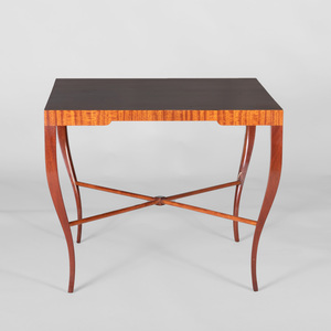 Tommi Parzinger Mahogany Low Table