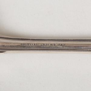Buccellati Silver Part Flatware Service in the 'Milano' Pattern
