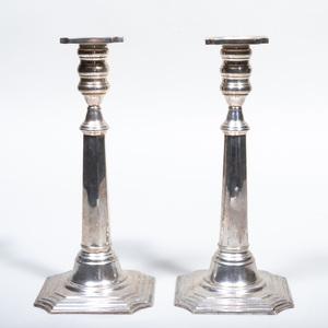Cartier Silver Candlesticks