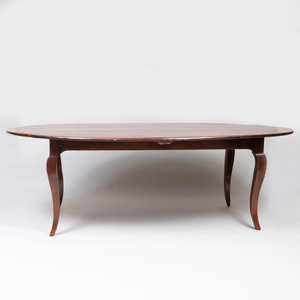Louis XV Style Provincial Cherry Oval Dining Table