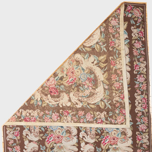 Floral Needlepoint Carpet