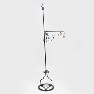 Victorian Style Painted Metal Floor Lamp