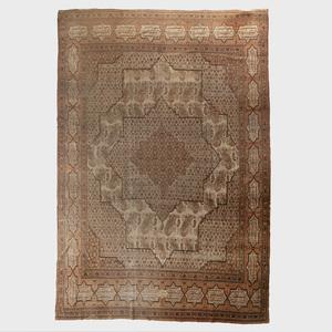 Indo-Persian Oatmeal Ground Carpet