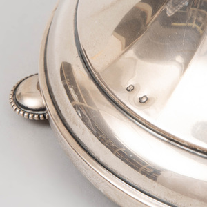 Hungarian Silver Reticulated Compote