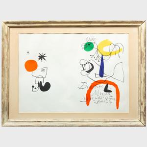 Jean Miró (1893 - 1983): Derrière le Miroir