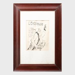 Henri de Toulouse-Lautrec (1864 - 1901): L'Entôleuse