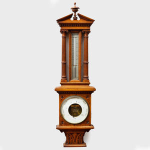 Continental Oak Barometer