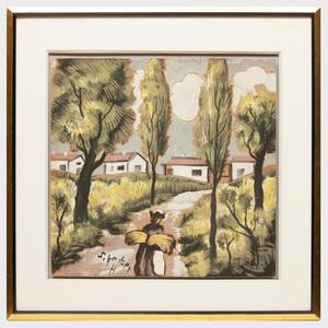 Hugo Scheiber (1873-1950): The Village