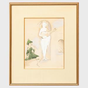 Marcel Vertes (1895-1961): The Duet