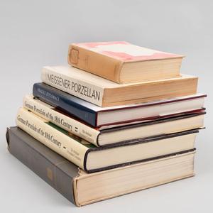 Group of Six German Porcelain Books