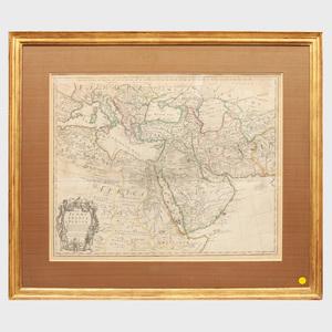 Guillaume de L'Isle (1675-1726):  Map of Turky Arabia & Persia
