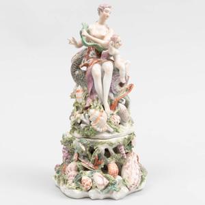 Derby Porcelain Figure of Venus