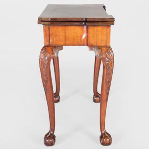 George II Mahogany Card Table