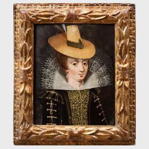 European School: Portrait of Mlle. Gabriel Destrée