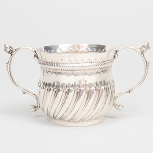 George III Silver Twin Handled Cup
