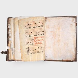 Large Antiphonal Latin Hymnal