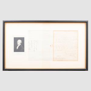 Alexander Hamilton: Autographed Letter
