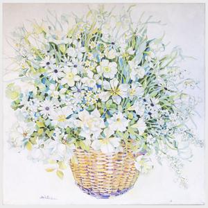 Jack Baker (1925-2011): White Flowers