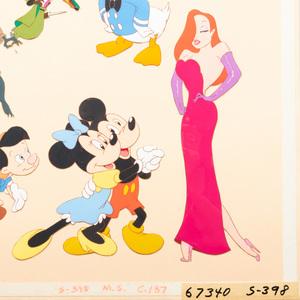 Walt Disney Studios: Collage of Toons