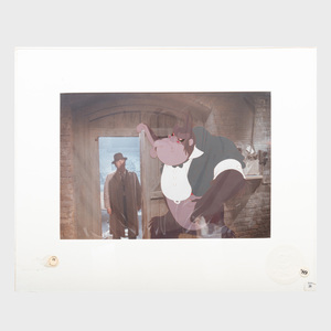 Walt Disney Studios: Eddie Valiant and Bongo the Gorilla