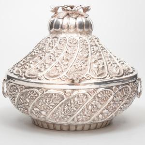 Egyptian Silver Betrothal Casket