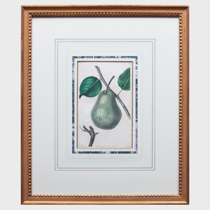 After Mrs. Augusta Withers (1792-1877): Pears: Two Plates