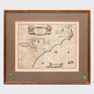 Willem J. Blaue (1751-1638): Virginiae Partis Australis et Floridae Partis Orientalis
