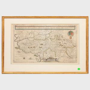 Willem J. Blaeu (1571-1638), Publisher: Le Pais de Poictov