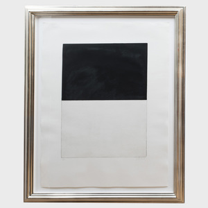 Brice Marden (b. 1938): Untitled, from Five Plates