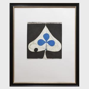 Richard Diebenkorn (1922-1993): Blue Club