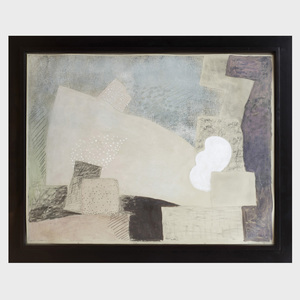 Robert Natkin (1930-2010): Untitled, from  Hitchcock Series