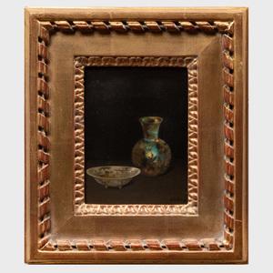 Harry Wilson Watrous (1857-1940): Still Life with Vase
