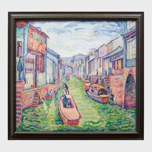 Jerome Blum (1884-1956): Venice