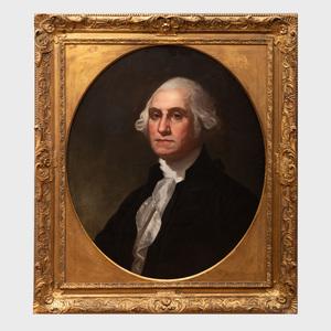 After Gilbert Stuart (1755-1828): Portrait of George Washington