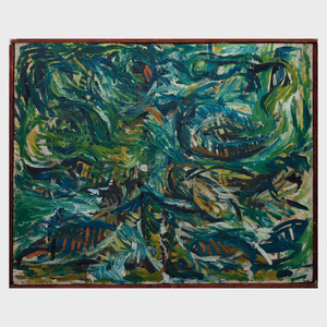 Robert Goodnough (1917-2010): Untitled