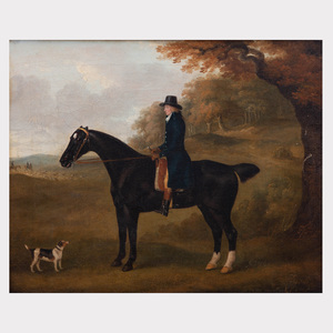 Attributed to John Sartorius (1759-1830): Gentleman Rider