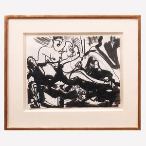 Hans Hoffman (1880-1966): Untitled